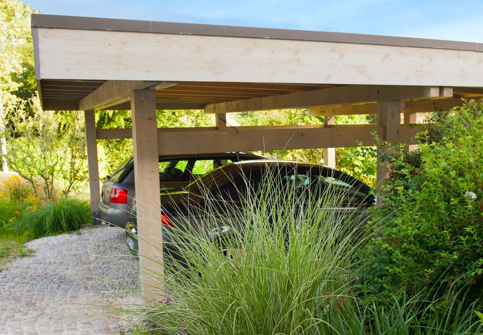 Carport abri voitures lenia abri de voiture carport for Prix abri spa