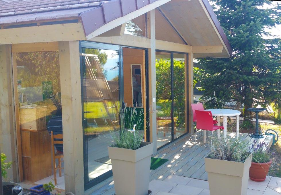 bureau de jardin atelier d 39 artiste lenia abri de. Black Bedroom Furniture Sets. Home Design Ideas